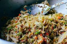 Photo of Healthy Eggroll in a Bowl (21 Day Fix) #eggrollinabowl Healthy Eggroll in a Bowl…