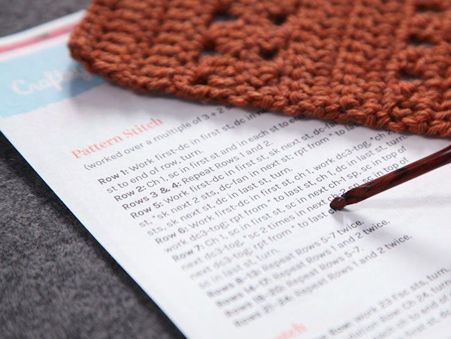 9 Beginner Tunisian Crochet Patterns for Practice | Crochet ...