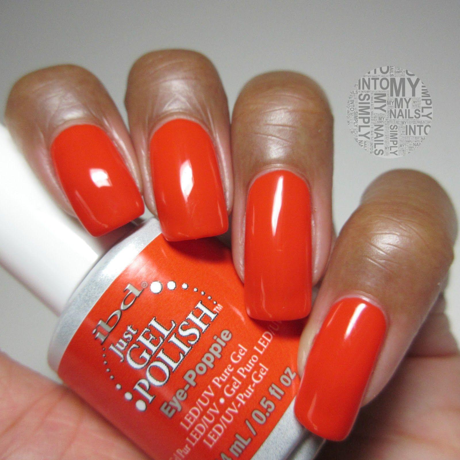 Simply Into My NAILS: Mini Manicures ~ IBD Just Gel Polish Eye ...