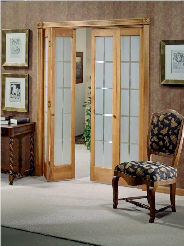 Les portes intérieures vitrées - laissons les intérieurs respirer - Decoration Encadrement Porte Interieur