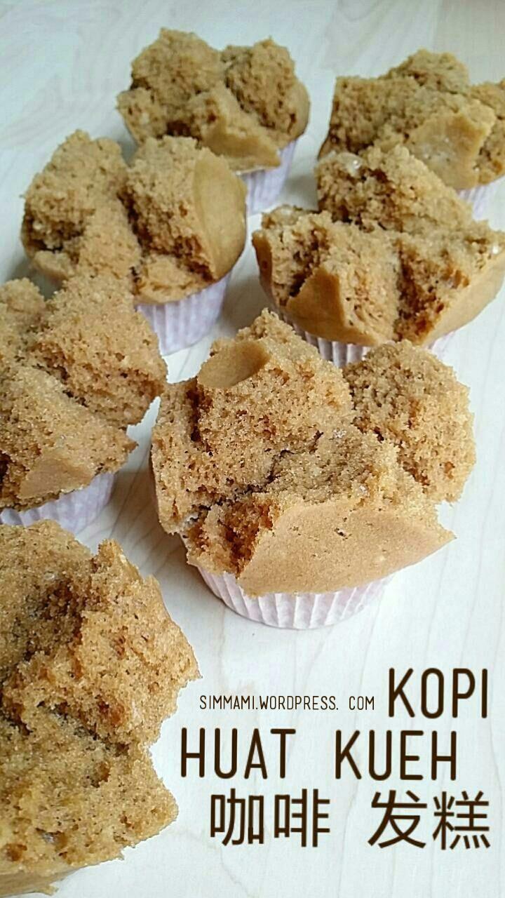 Kopi huat kueh Coffee muffins, Asian desserts, Dessert