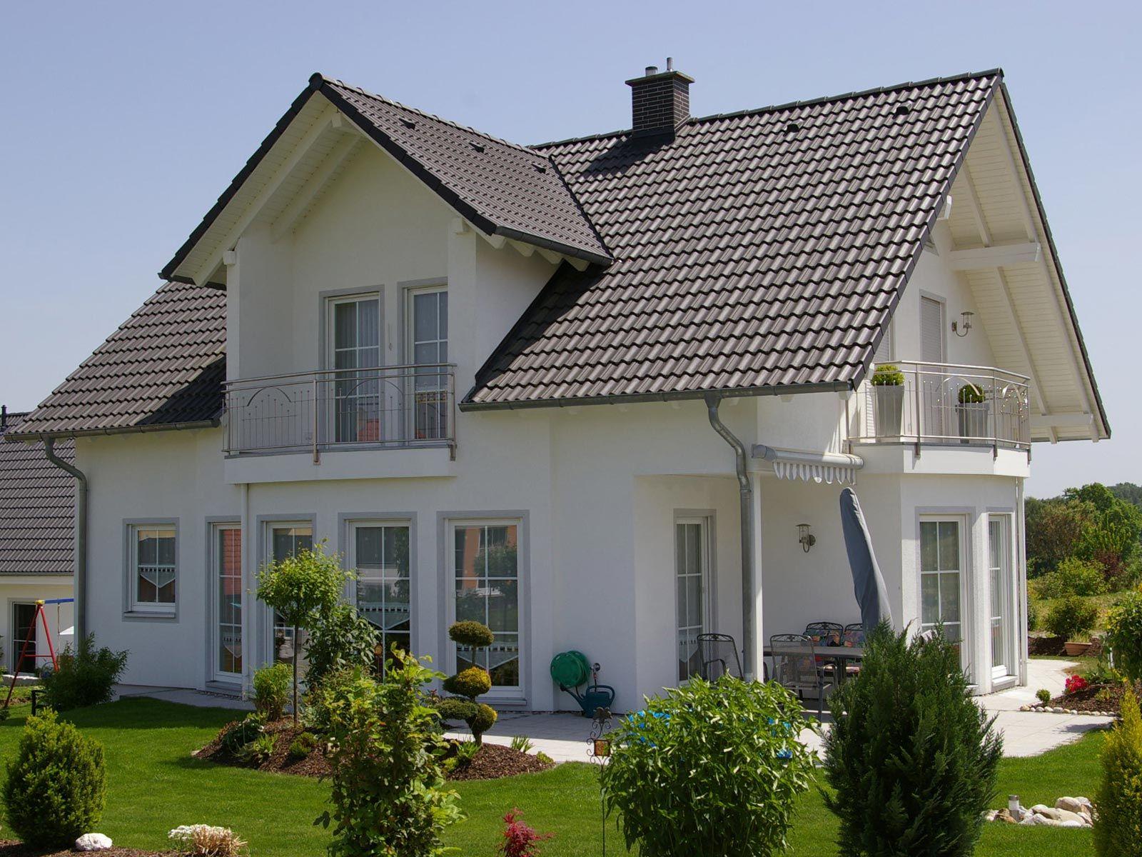 Schlüsselfertiges Massivhaus Spektralhaus: Pin Von Bruchlein Auf Häuser