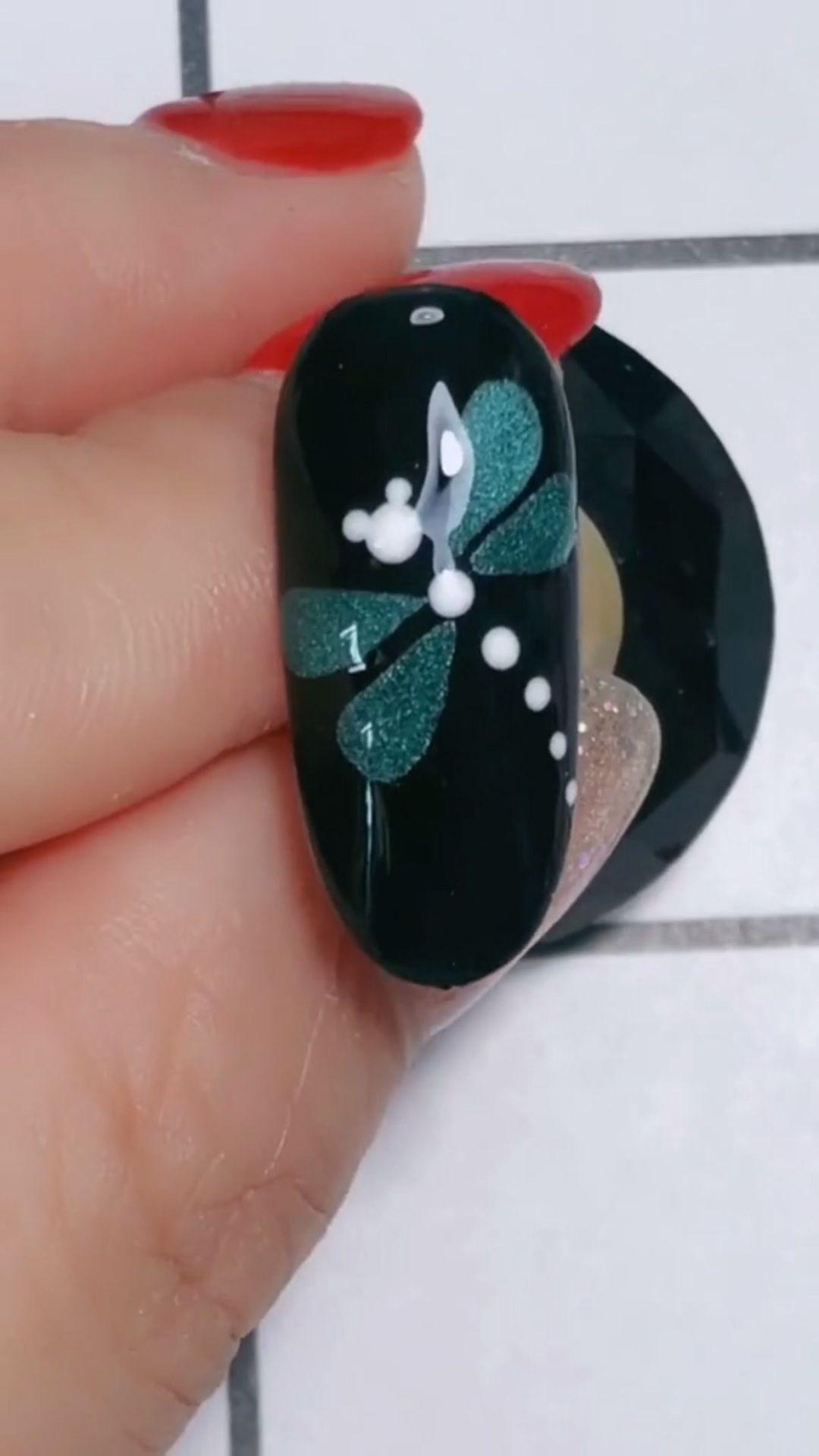 Simple nails art design video Tutorials Compilation Part 106 #summernails