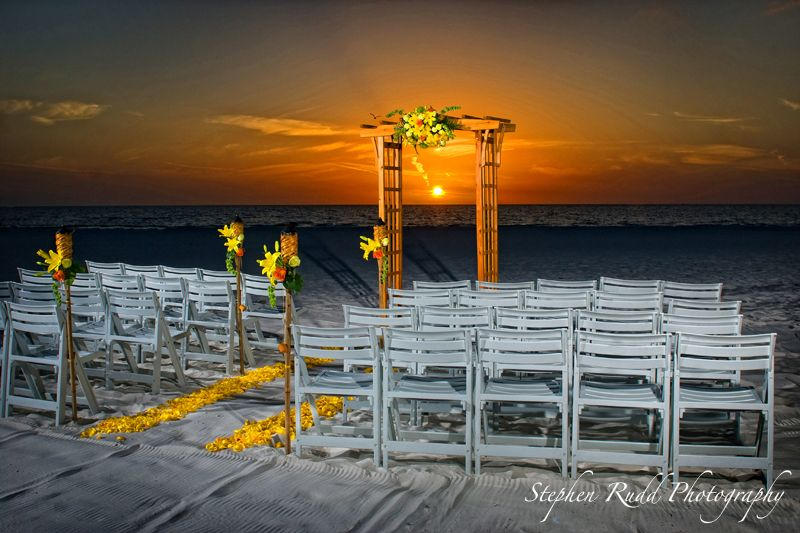 Hilton Clearwater Beach Sunset Wedding Venues And