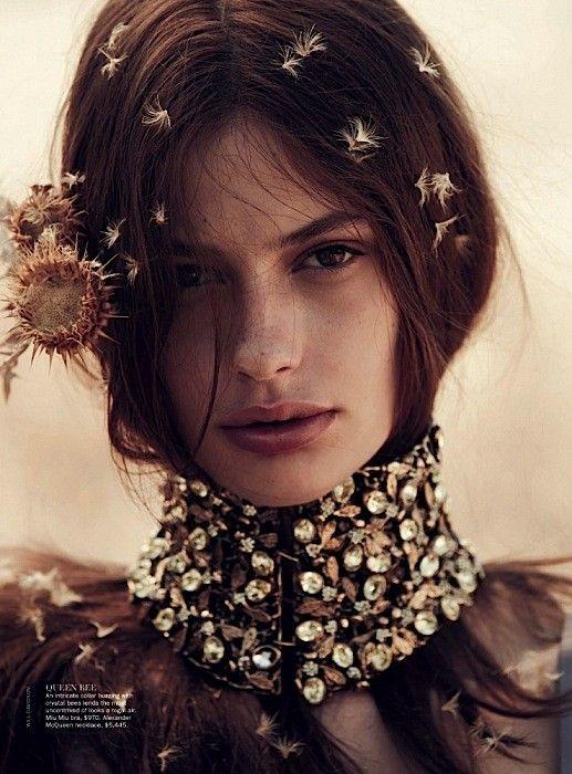 Cassi van den Dungen | Vogue Australia April 2013