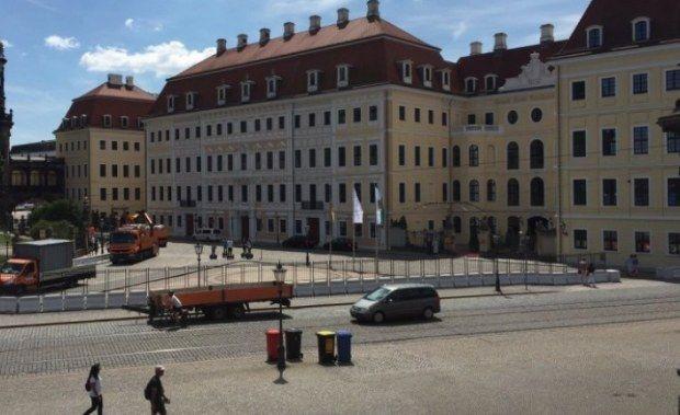 """Bilderberg2016 Dresden"""" Re-built Dresden? ..die you fucks""""..wb."""