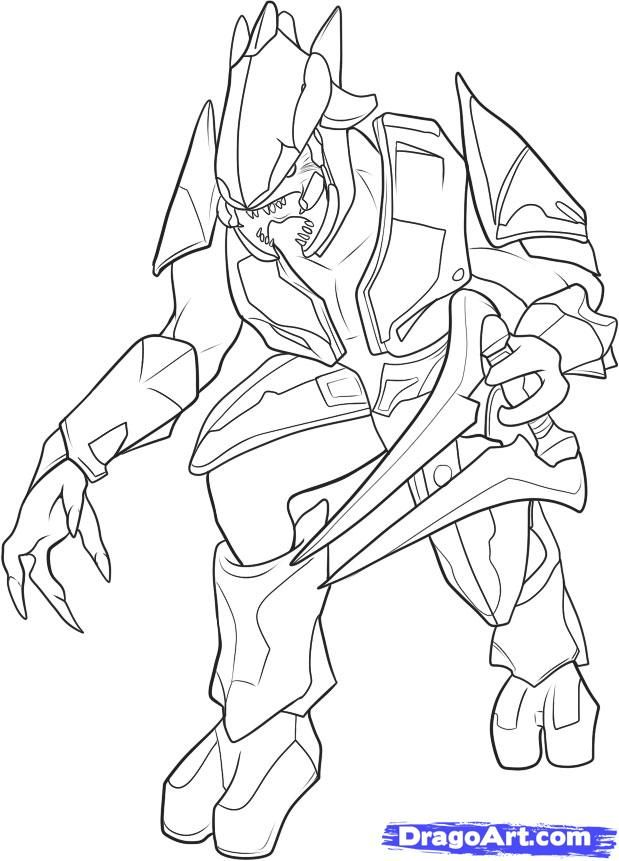 halo Drawings Bing images Coloring pages for Adults