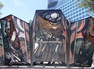 La historia de México en un mural. Muralistas mexicanos.   Bossa