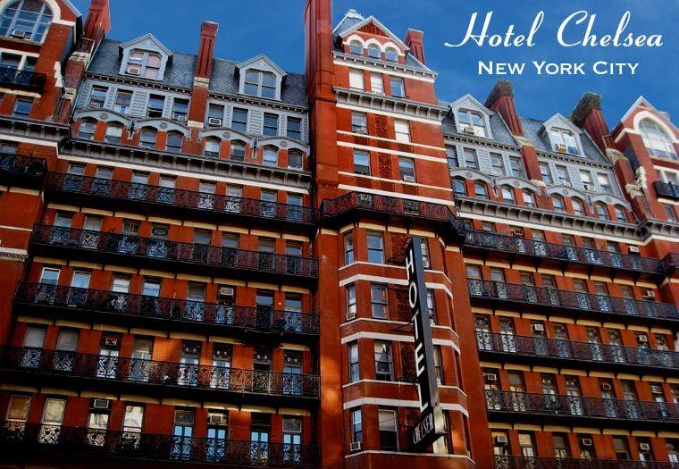 Seeks Ghosts The Haunted Bohemian Chelsea Hotel