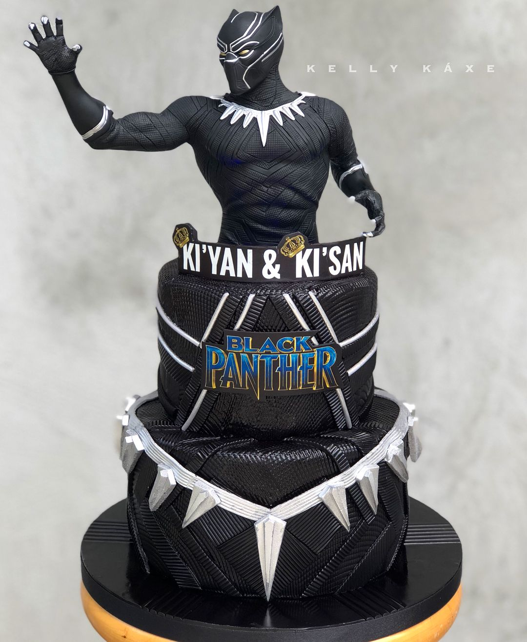 black panther birthday cake ideas