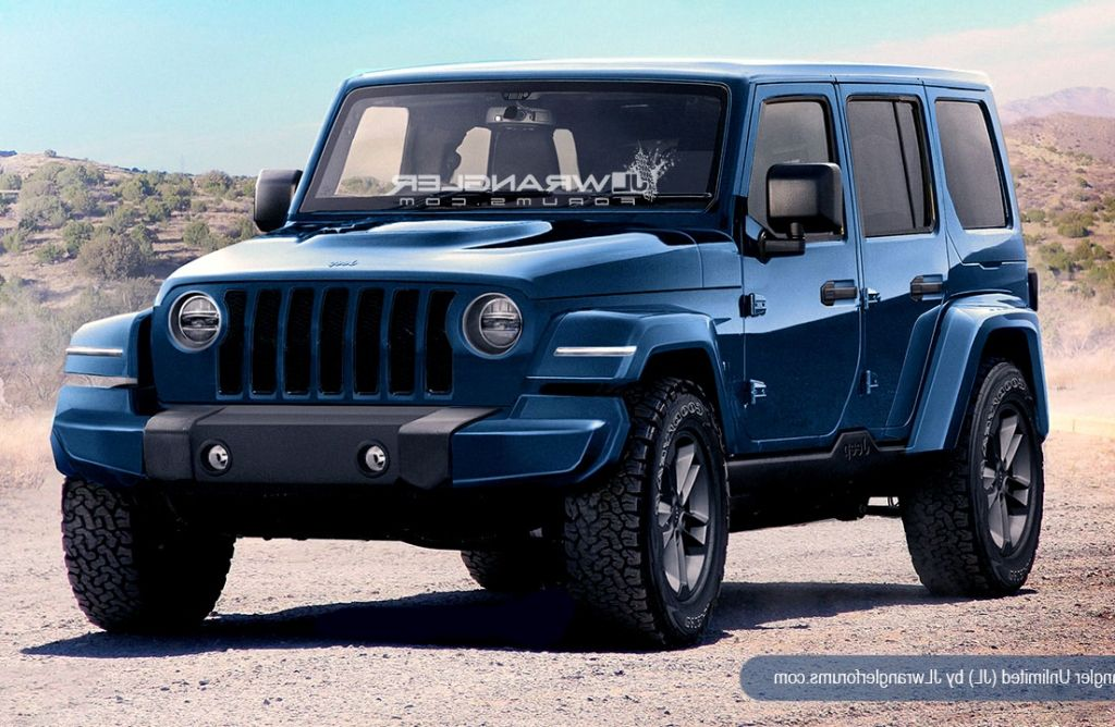 2018 Jeep Wrangler front view, grille Jeep wrangler