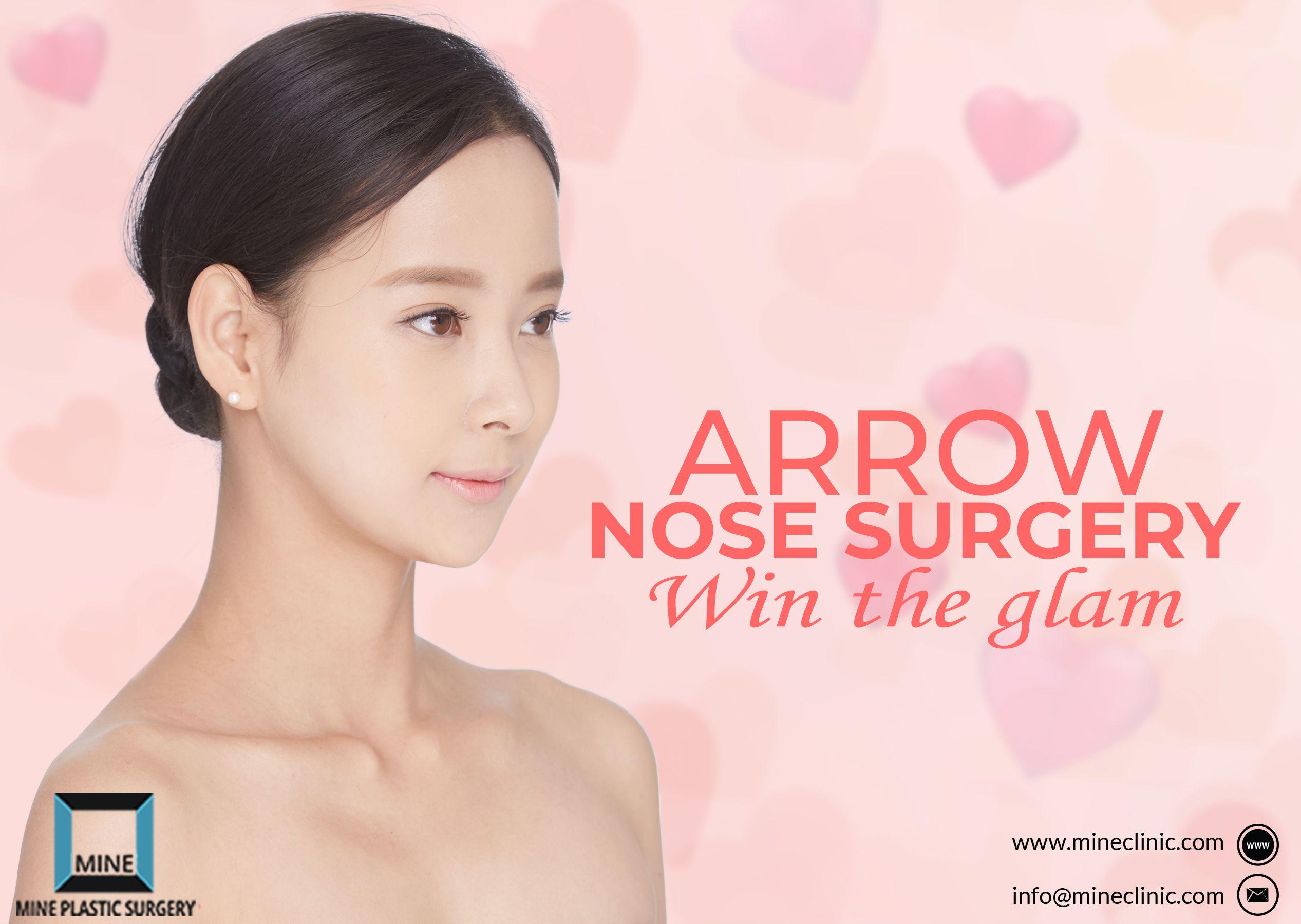 Soft long arrow nose surgery korea with images nose