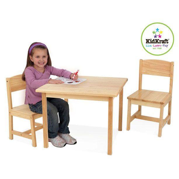 #Kidkraft #Table & #chairs - #Aspen - #Natural