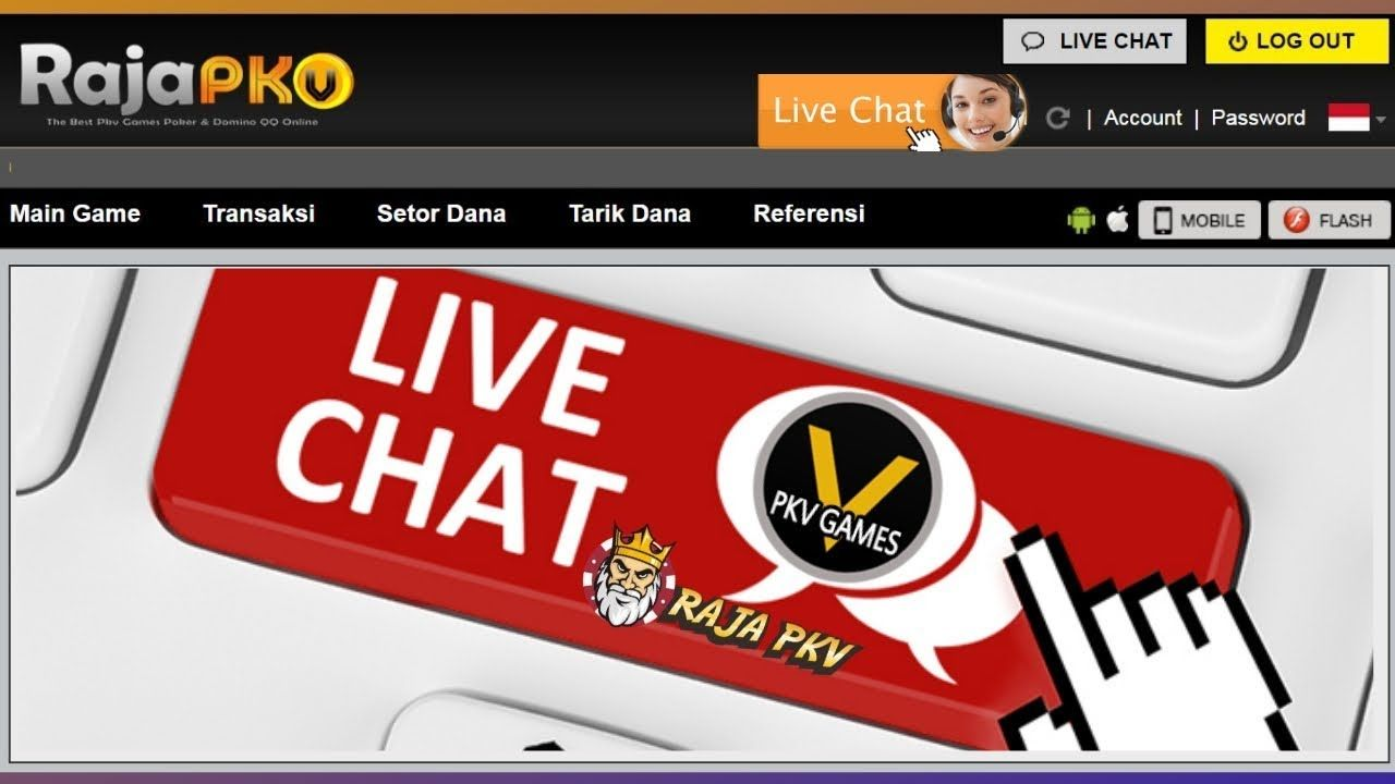 Live Chat Poker Pkv Main Game Game