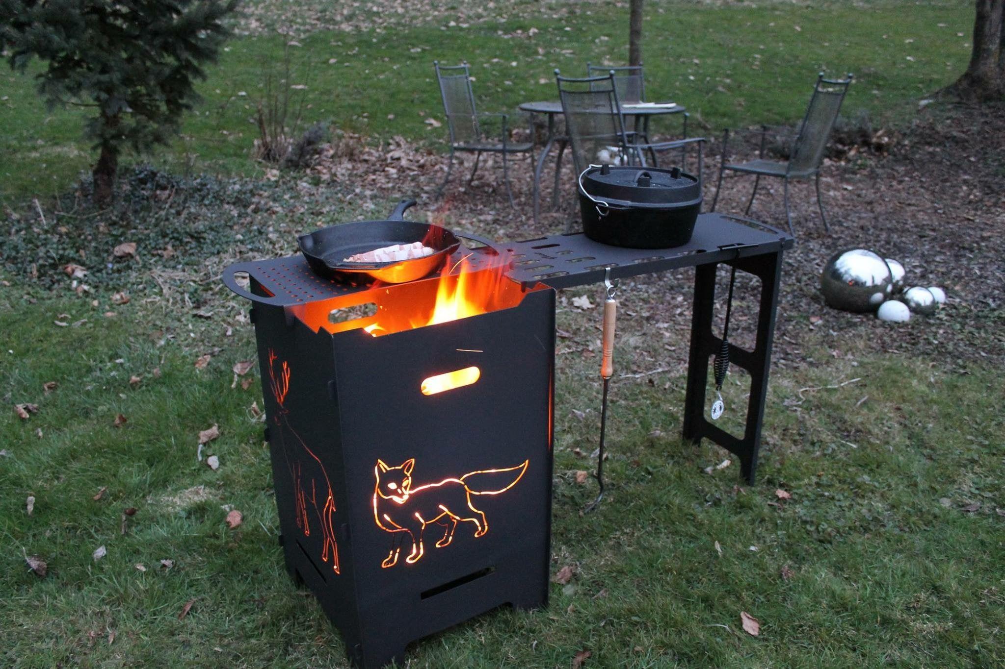 Pin Von Lis Vaz Auf Kochen Kochen Im Freien Im Freien Feuerkorb