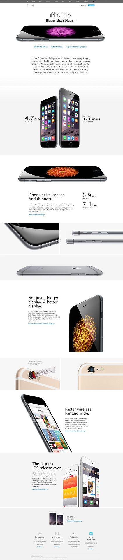 Web Design Apple Iphone6 Unique Web Design Modern Web Design Modern Web Design Trends