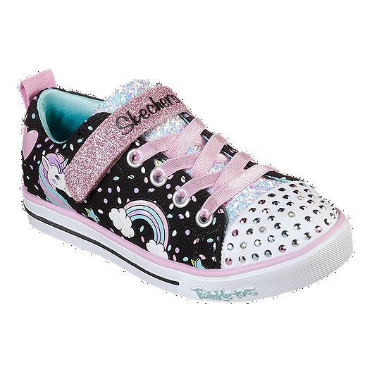 Skechers Girls' Sparkle Lite Unicorn PreSchool Shoes