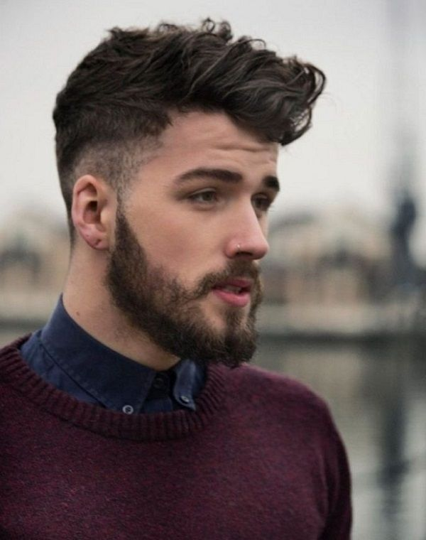 Short Hairstyles For Men With Beard 20 Short Hairstyles For Men With Beards Overview 2017 2018