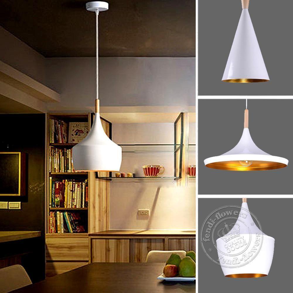 Uk Modern Wood Metal Chandelier Pendant Lamp Ceiling Lights Fixture White 3550hc Home Furniture