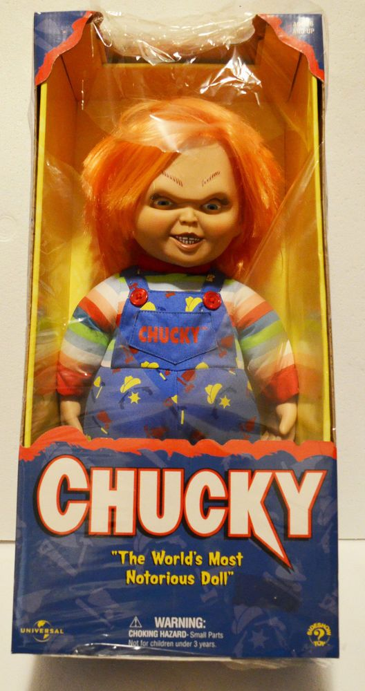 CHUCKY DOLL VINTAGE UNIVERSAL SIDESHOW HORROR TOY RARE