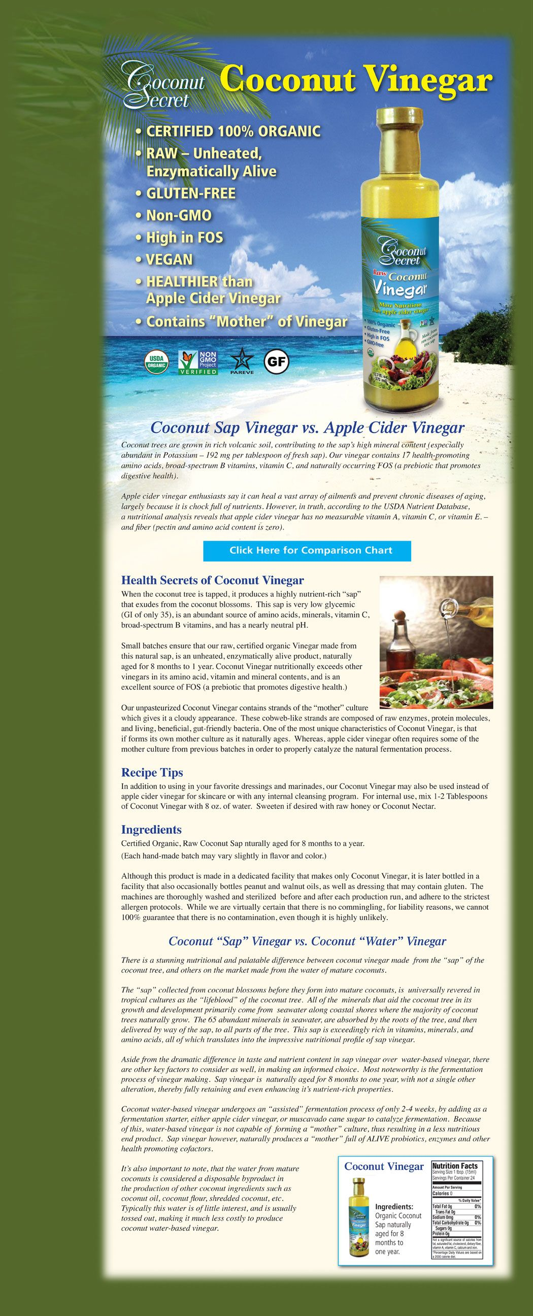coconut vinegar | coconut health benefits, hypothyroidism