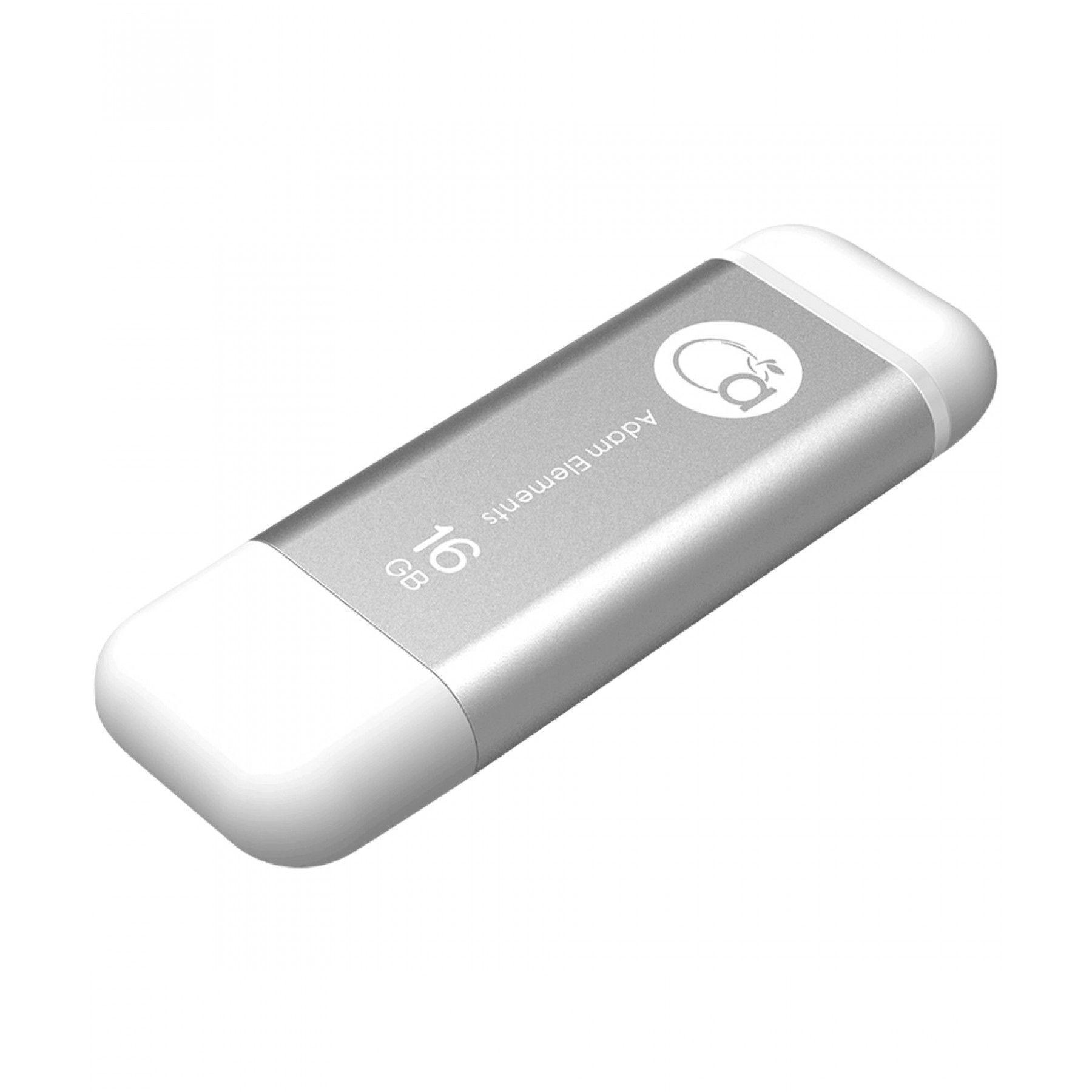Memoria iKlips de 16 GB; Transfiere lo que quieras desde tu ordenador al iPhone o iPad y viceversa. Para almacenamiento de fotos vídeos y música; transferir y hacer copia de seguridad. Con el conector Lightning - USB 3.0 soporte exFAT y un diseño muy esp