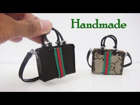 61cdd6f651a3 TUTORIAL--------(2138) DIY Miniature Realistic Bags #2 - Handmade Dollhouse  - YouTube