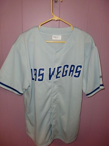 Las Vegas 51 S Nv Rare Name Only Blank Minor League Rare Jersey Baseball Xl Mets Ebay Mets Jersey Vegas