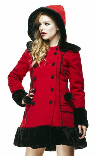 Bunny Winter Hood Sarah Jane Coat Fur About Details Hell 0OPk8nw