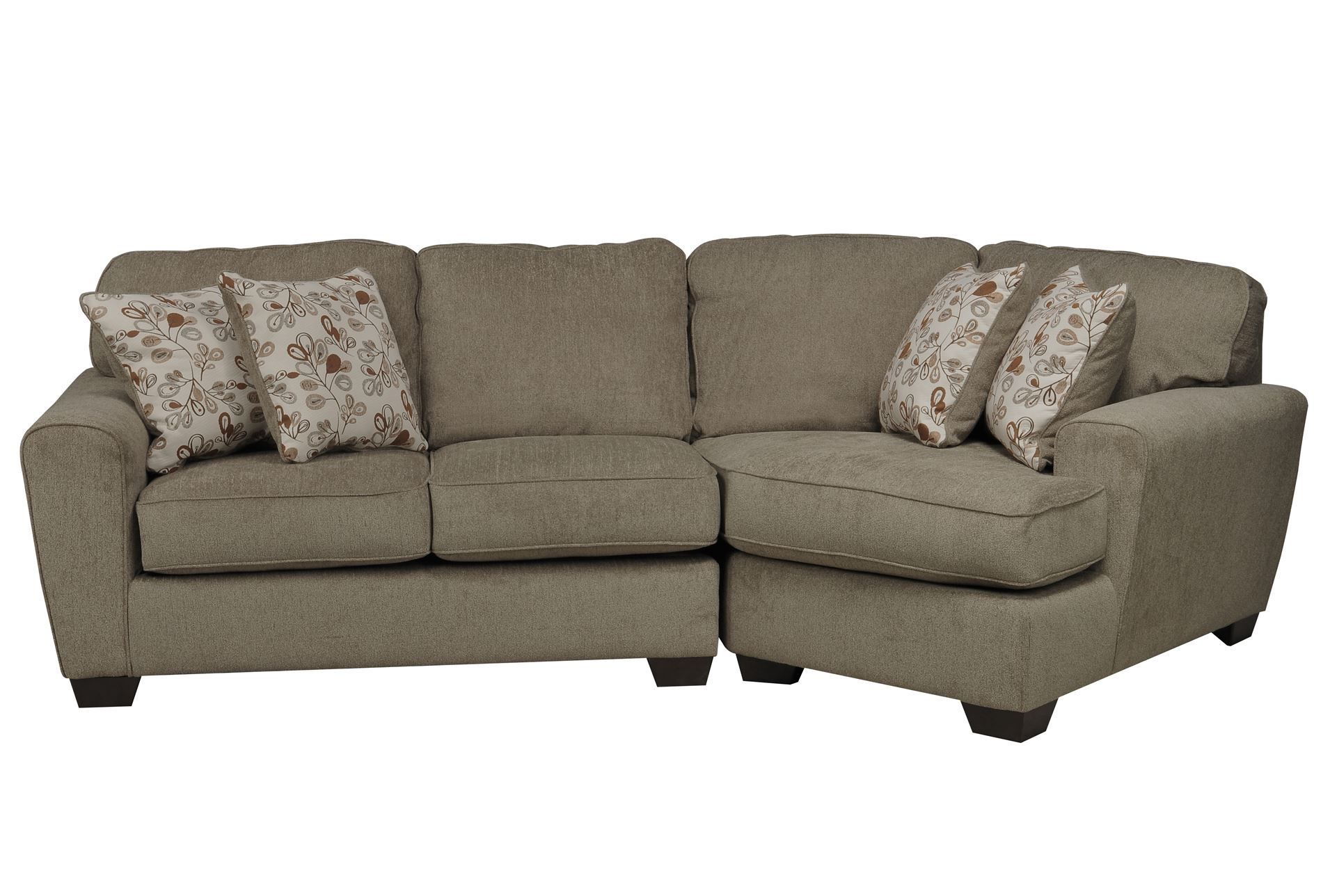 sofa with cuddler and chaise gray sleeper o a cuddle corner patola park 2 piece sectional w