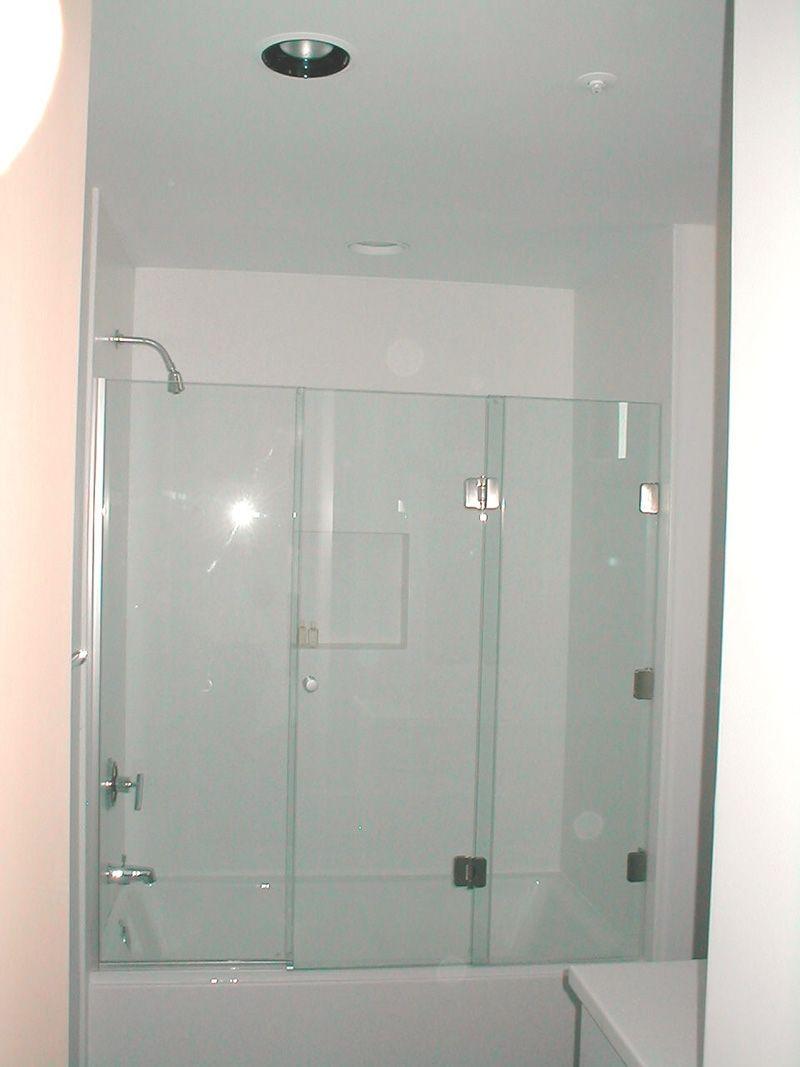 3 Panel Frameless Sliding Shower Door Httptogethersandia