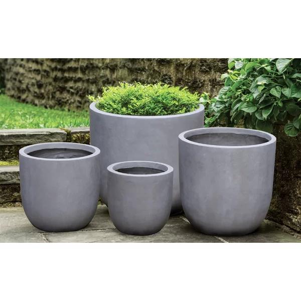 Modern Fiberglass Pot Planter Planters Cement Planters Outdoor