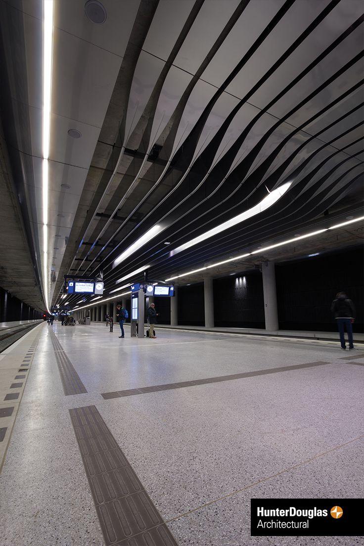 Delft station | Ceiling / Plafond | by Hunter Douglas ...
