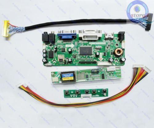 Details About Hdmi Dvi Vga Lcd Controller Lvds Inverter Driver Kit