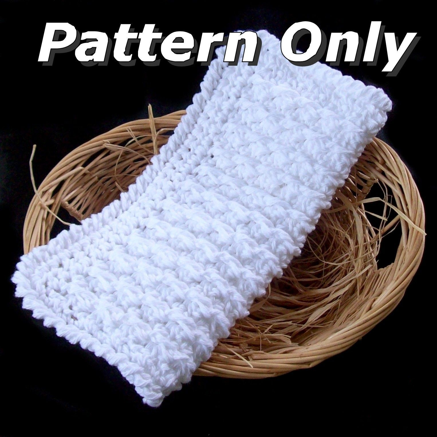 Free Crochet Wedding Gift Patterns | FREE CROCHET PATTERN WASHCLOTH ...