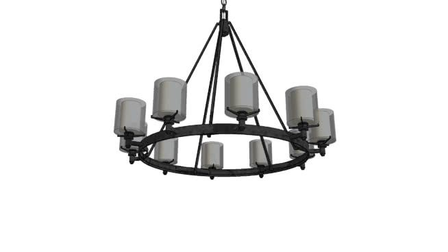 the troy lighting arcadia chandelier is a contemporary illustration