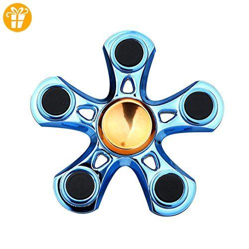 Hand Spinner Torqbar High Speed Finger Spielzeug EDC Focus Gyro , Kobay Tri Fidget Hand spinner Pentagon - Fidget spinner (*Partner-Link)
