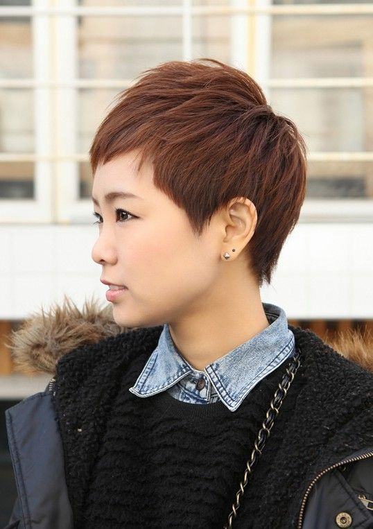 hair styles for black sharp amp rihanna pixie cut boyish asian haircut 6583