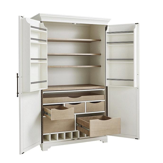 Fairmont Pantry Cabinet, Kitchen Pantry Cabinet Ballard Designs