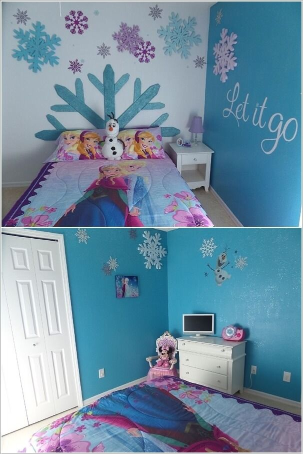 Fabulous Ways To Design A Frozen Themed Room Frozen Themed