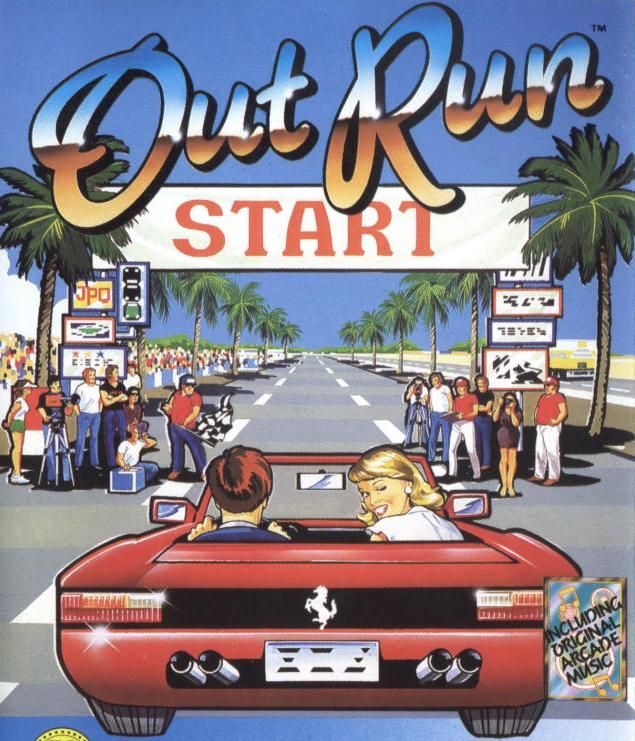 Out Run - C64 | I grew up in the 80's | Classic video games