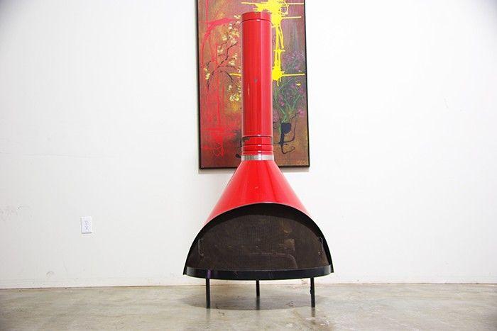 Vintage Preway Fireplace
