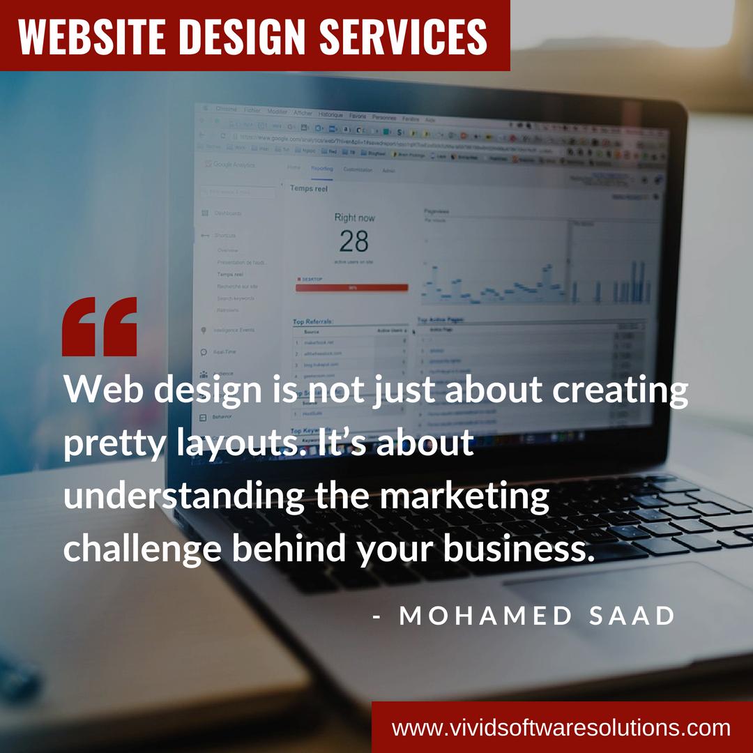 At Vivid Software Solutions We Offer Premium Website Design Services For Ecommerce Online Store Websites With Images Web Design Website Design Services Custom Web Design