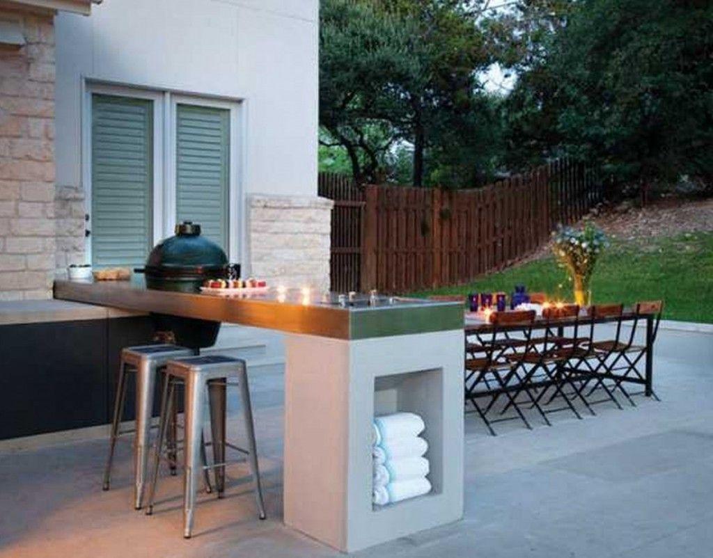 Minimalist Outdoor Kitchen Island Plans Kitchen Island With Big Green Discover Kitchen Co Modern Outdoor Kitchen Backyard Seating Outdoor Kitchen Design