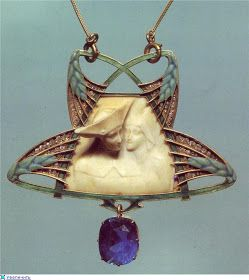 Blog of an Art Admirer: Art Nouveau artists - Lalique Jewelry. Pendants