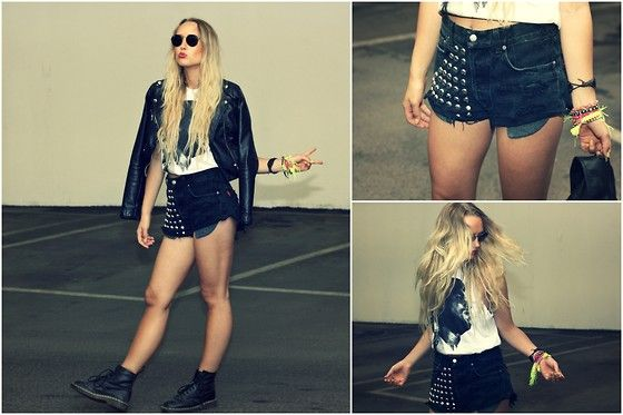 Swag' in a parkinggarage! (by Joanna Johansson) http://lookbook.nu/look/3601369-swag-in-a-parkinggarage