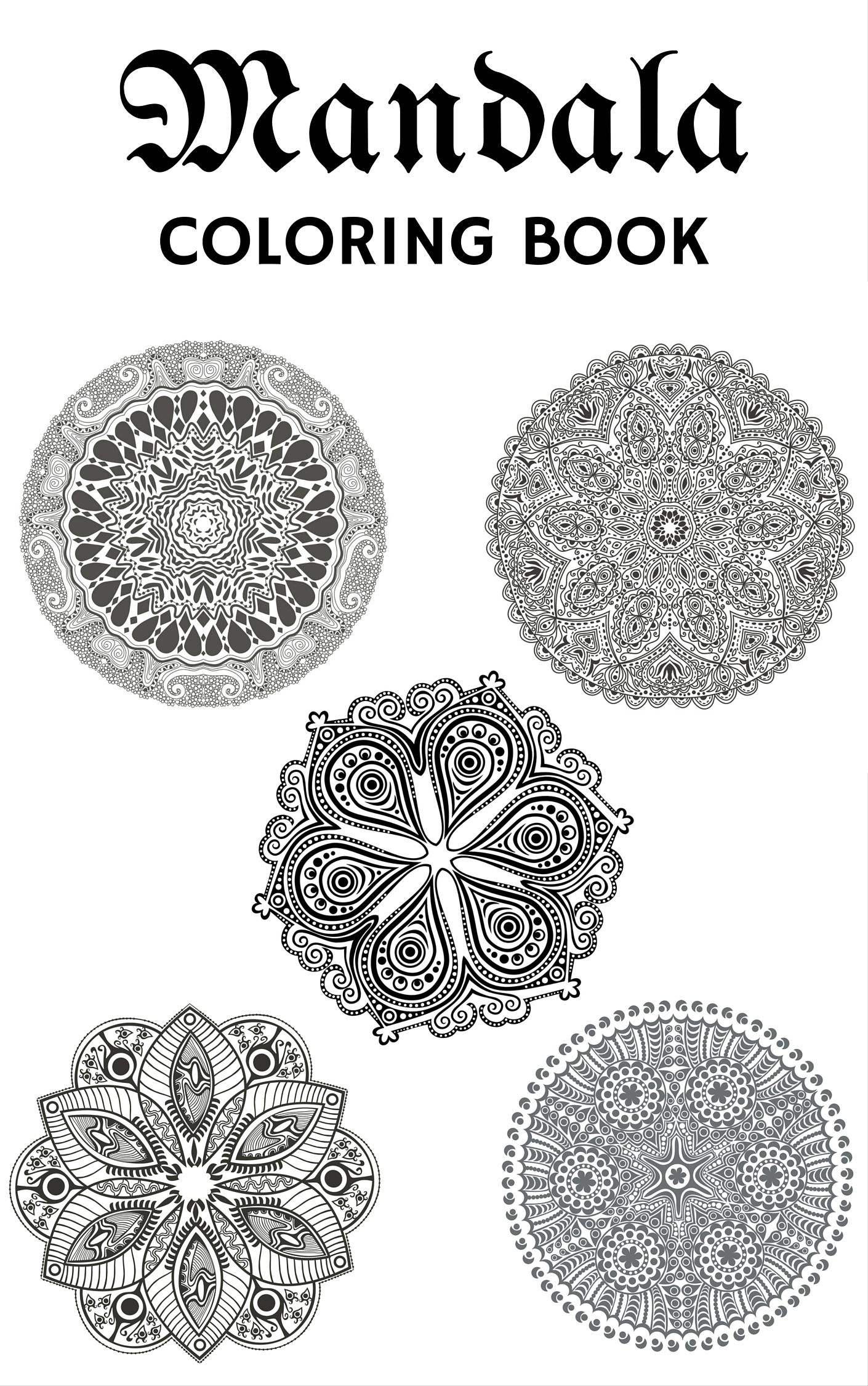 Unique mandala coloring pages - Free Mandala Coloring Pages For Signing Up For This Newsletter