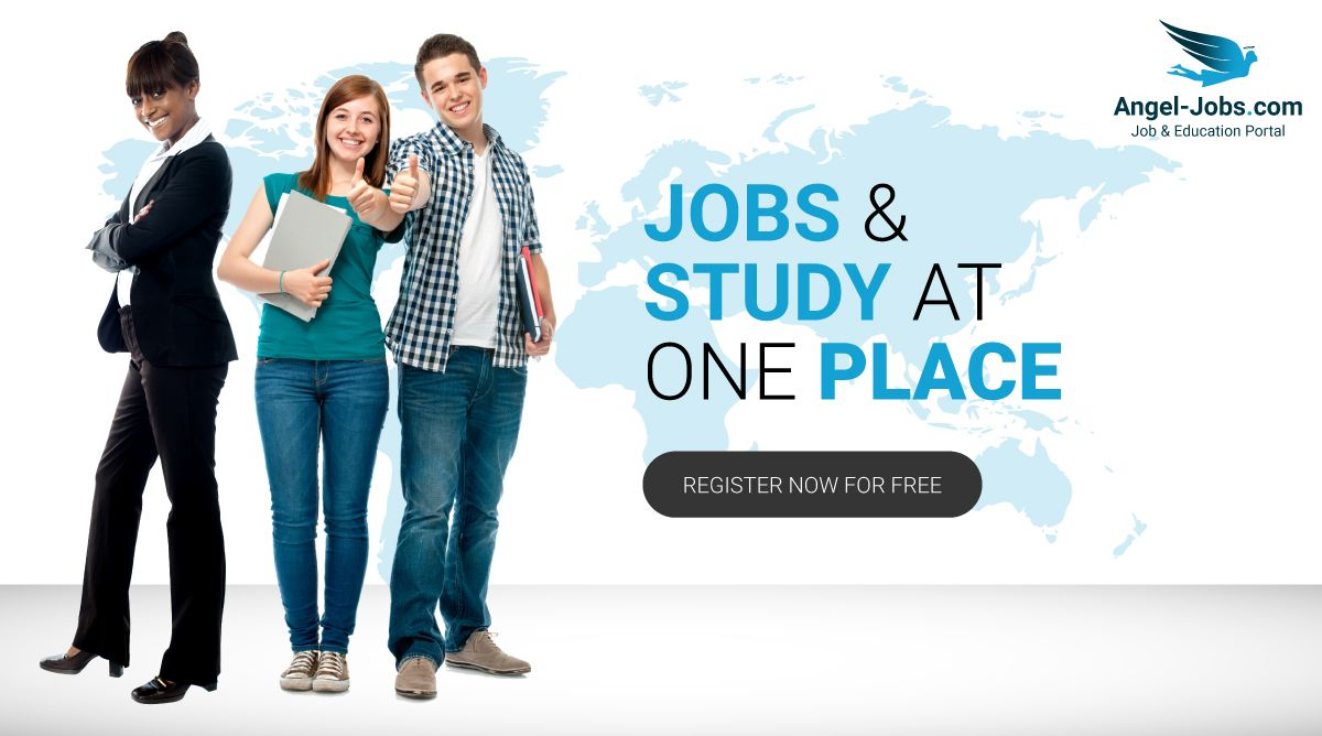Find the best job and education at Angel Jobs portal!