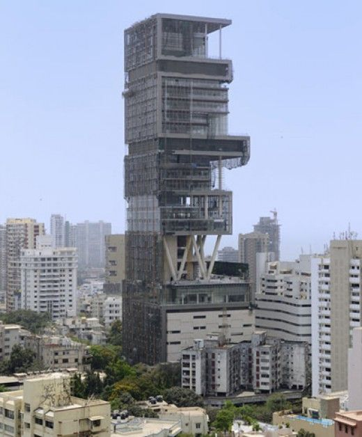 Antilia Is The World S Most Expensive House Ever Made Expensive Houses Amazing Buildings Skyscraper