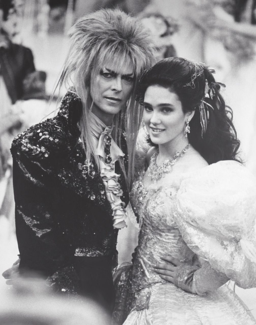 1986 - David Bowie as Jareth and Jennifer Connelly as ... Labyrinth Cast